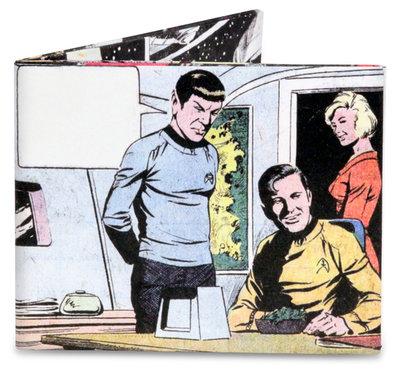 Mighty Wallet Star Trek Spock says...