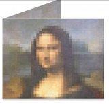 Mighty Wallet Pixel Mona Lisa