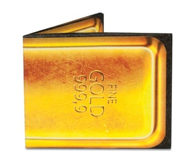 Mighty Wallet Gold Bar