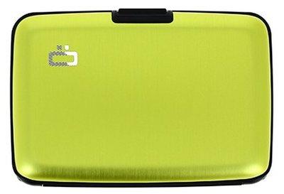 Ögon Stockholm Green Lime creditcardhouder