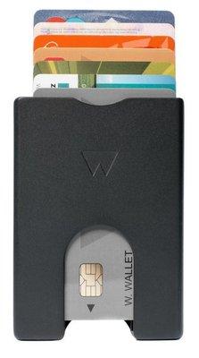 Walter Wallet Black Aluminium creditcardhouder
