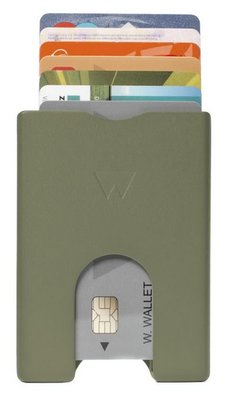 Walter Wallet Green Aluminium creditcardhouder