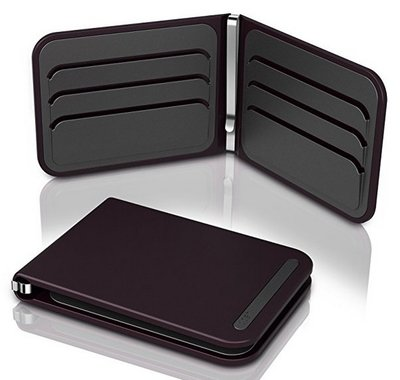 Dosh Aero Garnet creditcardhouder