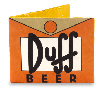 Mighty Wallet Simpsons Duff