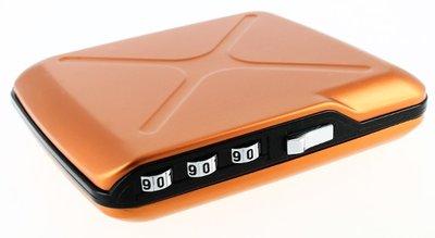 Ögon Code Wallet Orange creditcardhouder