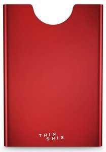 Thin King Gordito Ruby Red creditcardhouder