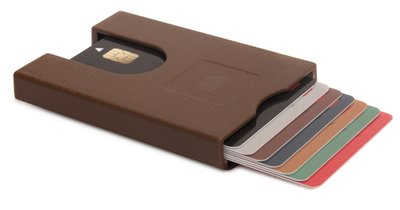 Walter Wallet Paper Brown creditcardhouder
